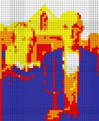Rubik's Cube Wall Art Mosaic