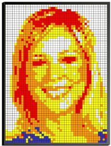 Rubik's Cube Mosaic Portrait Store